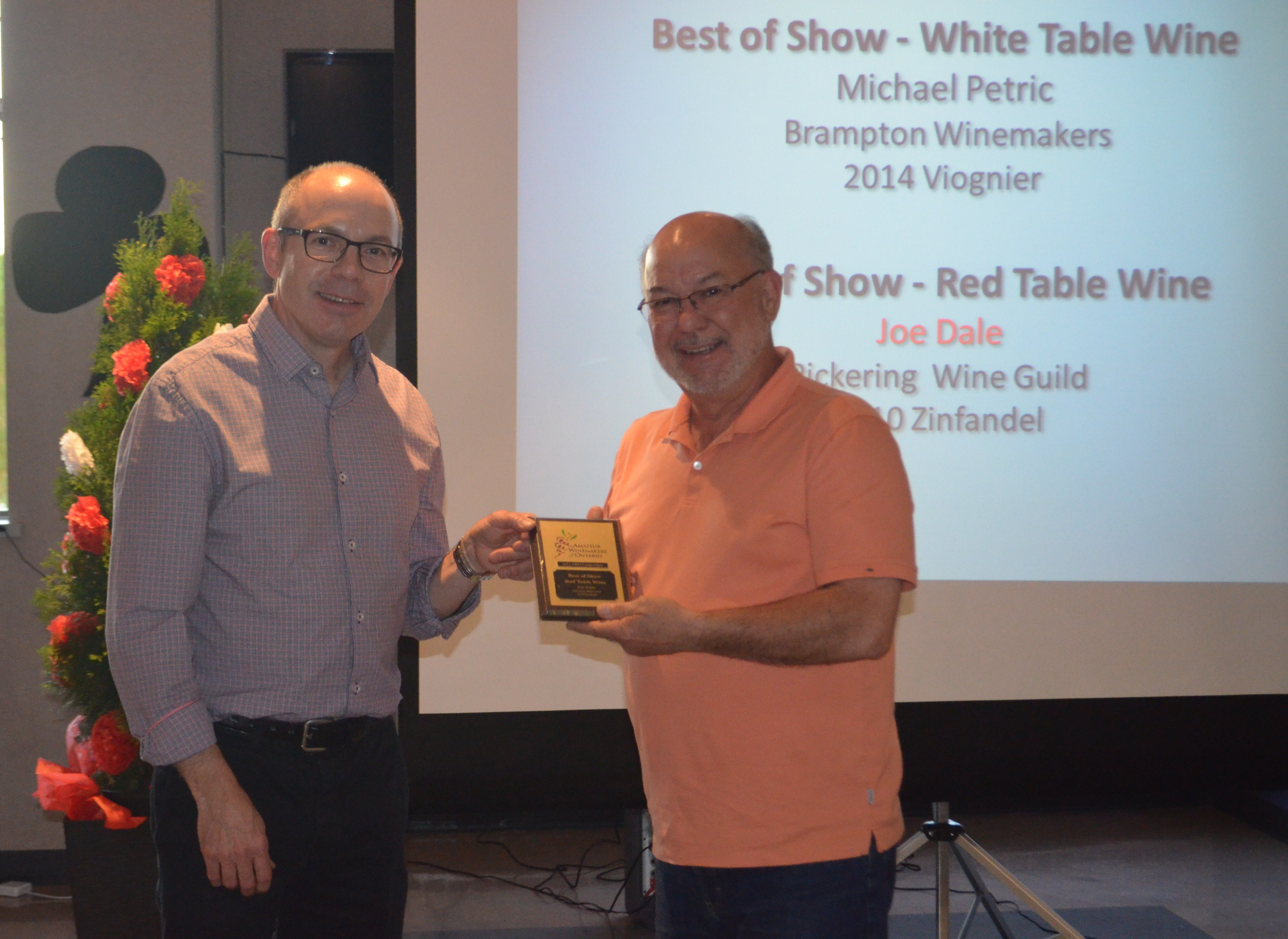 2015-06-06 BEST OF SHOW RED TABLE WINE JOE DALE 2015