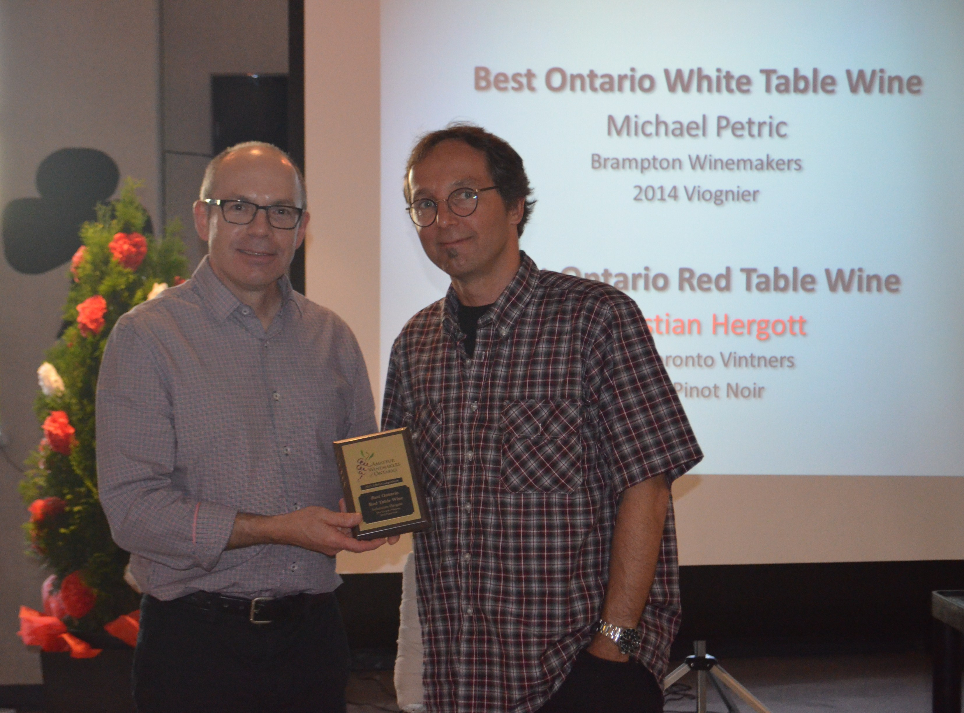 2015-06-06 BEST ONTARIO RED TABLE WINE CHRISTIAN HERGOTT  2015