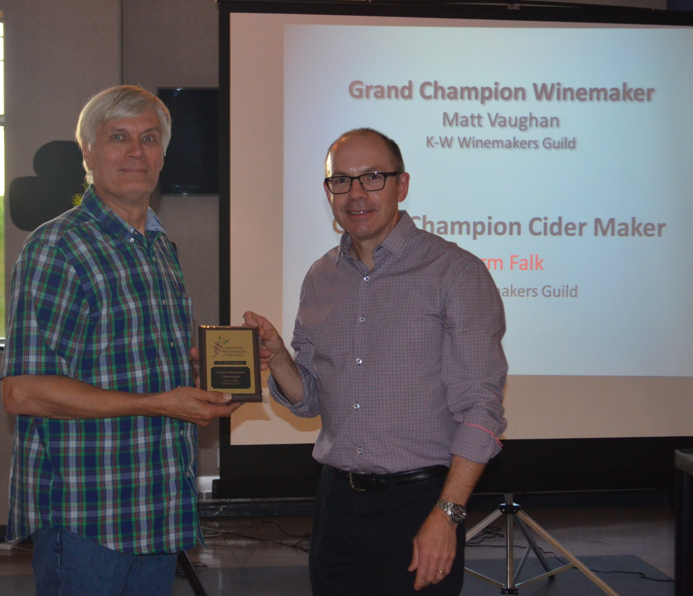2015-06-06 GRAND CHAMPION CIDER MAKER 2015